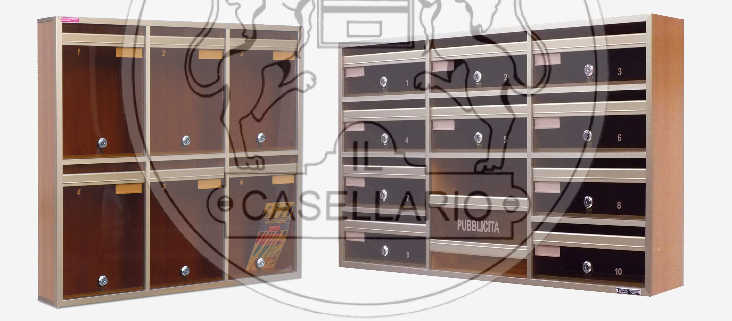 IL CASELLARIO - ACP LE PALME - CASELLARI POSTALI - ROMA