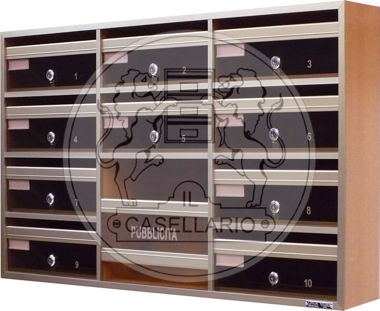 A301 Standard IL CASELLARIO - ACP LE PALME - CASELLARI POSTALI - ROMA - A301s
