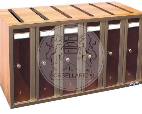 A307 Cassette postali e casellari postali condominiali - Il Casellario - ACP LE PALME - ROMA
