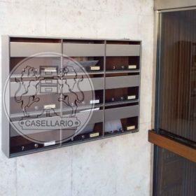 Casellari postali Il Casellario ACP Le Palme - Serie Alluminio17