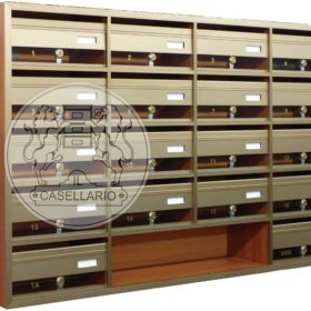 Casellari postali Il Casellario ACP Le Palme - Serie Alluminio28