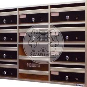 Casellari postali Il Casellario ACP Le Palme - Serie Alluminio3